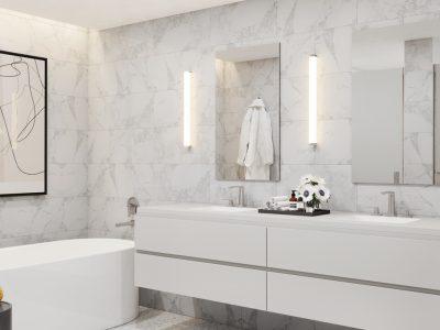 The bathroom at The Sudbury