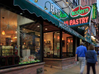 Modern Pastry, A North End Landmark