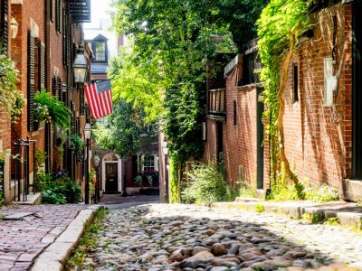 Historic Beacon Hill is just a walk away
