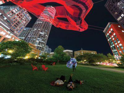 Rose Kennedy Greenway Art Exhibit