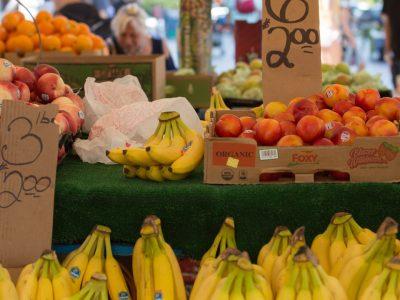 Fresh produce market near The Sudbury
