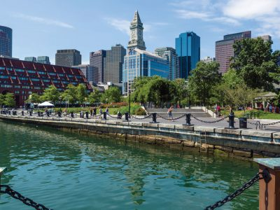 Boston Harborwalk, practically on your doorstep.